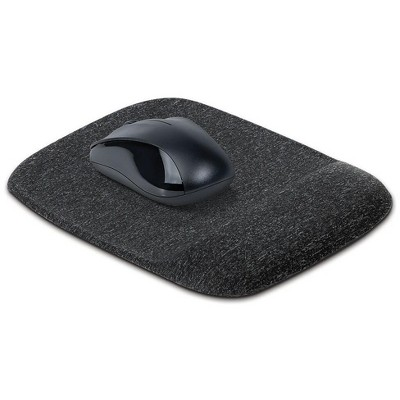 MyOfficeInnovations Mouse Pad with Gel Wrist Rest Black (53326) 24339943