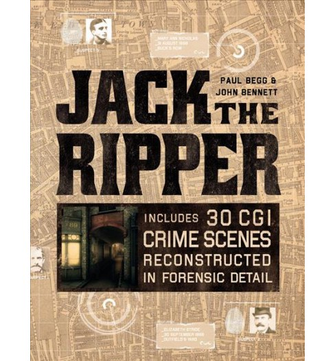 Jack the Ripper (Hardcover) (Paul Begg & John Bennett) - image 1 of 1