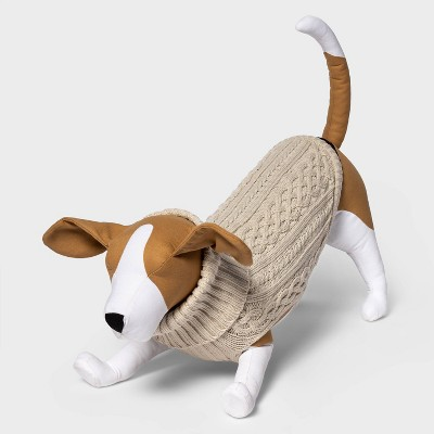 Cable Knit Turtleneck Dog Sweater - Boots & Barkley™