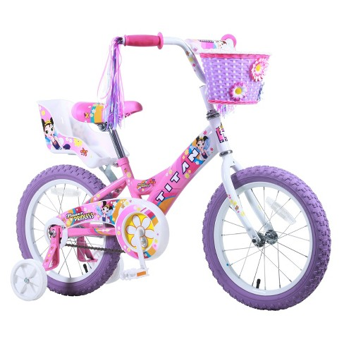 "Titan Flower Princess 16"" Kids' BMX Bike - Pink - image 1 of 4"