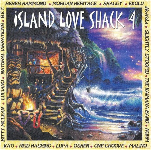 Various Artists - Island Love Shack, Vol. 4 (CD) - image 1 of 1