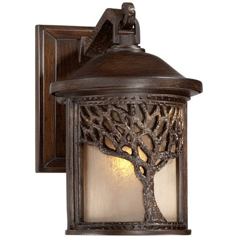 Rustic Outdoor Wall Light Fixture
