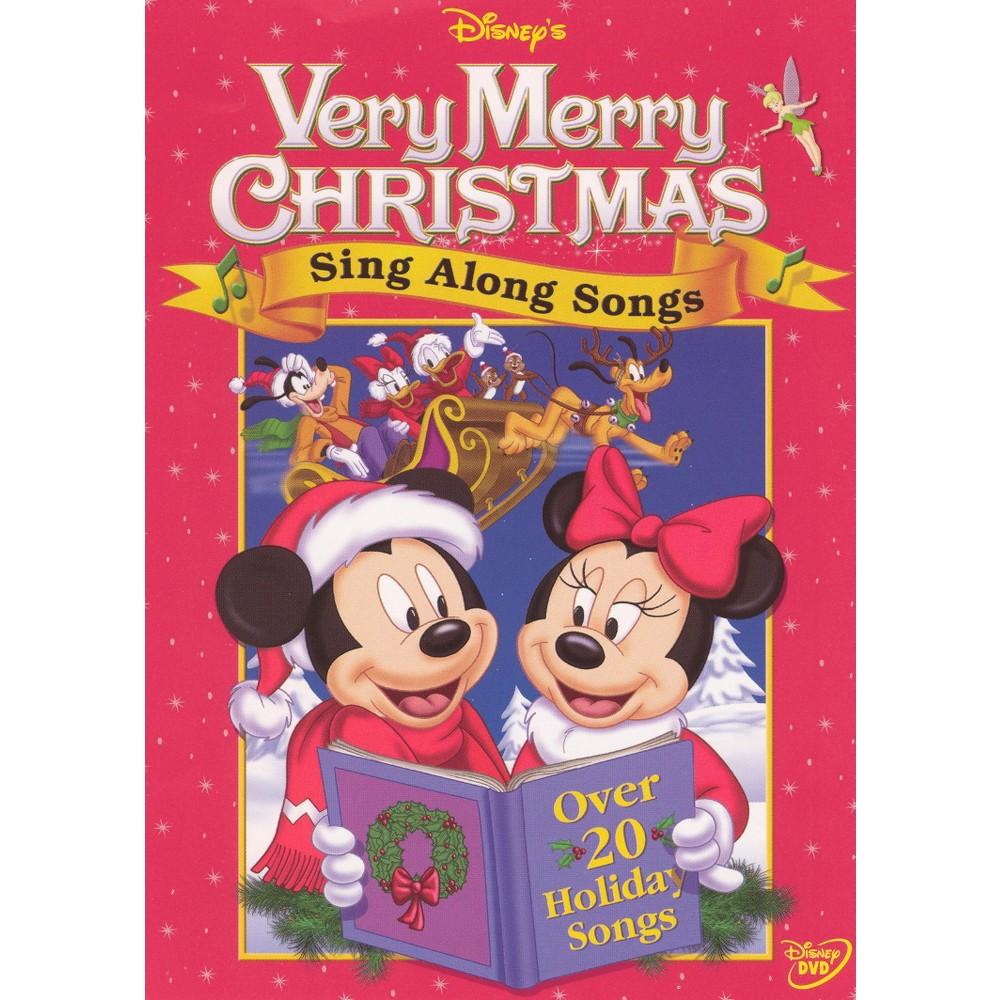 Disney's Sing-Along Songs: Very Merry Christmas (dvd_video)
