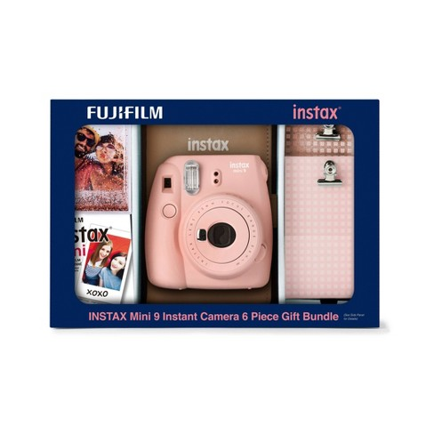 Fujifilm Instax Mini 9 Camera Holiday Bundle - image 1 of 2