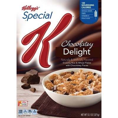 Special K Chocolatey Delight Breakfast Cereal - 13.1oz - Kellogg's
