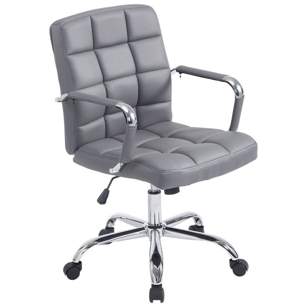 Jefferson Office Chair Gray - Poly and Bark