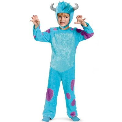 Monsters Inc Monster's University Sulley Classic Toddler Costume