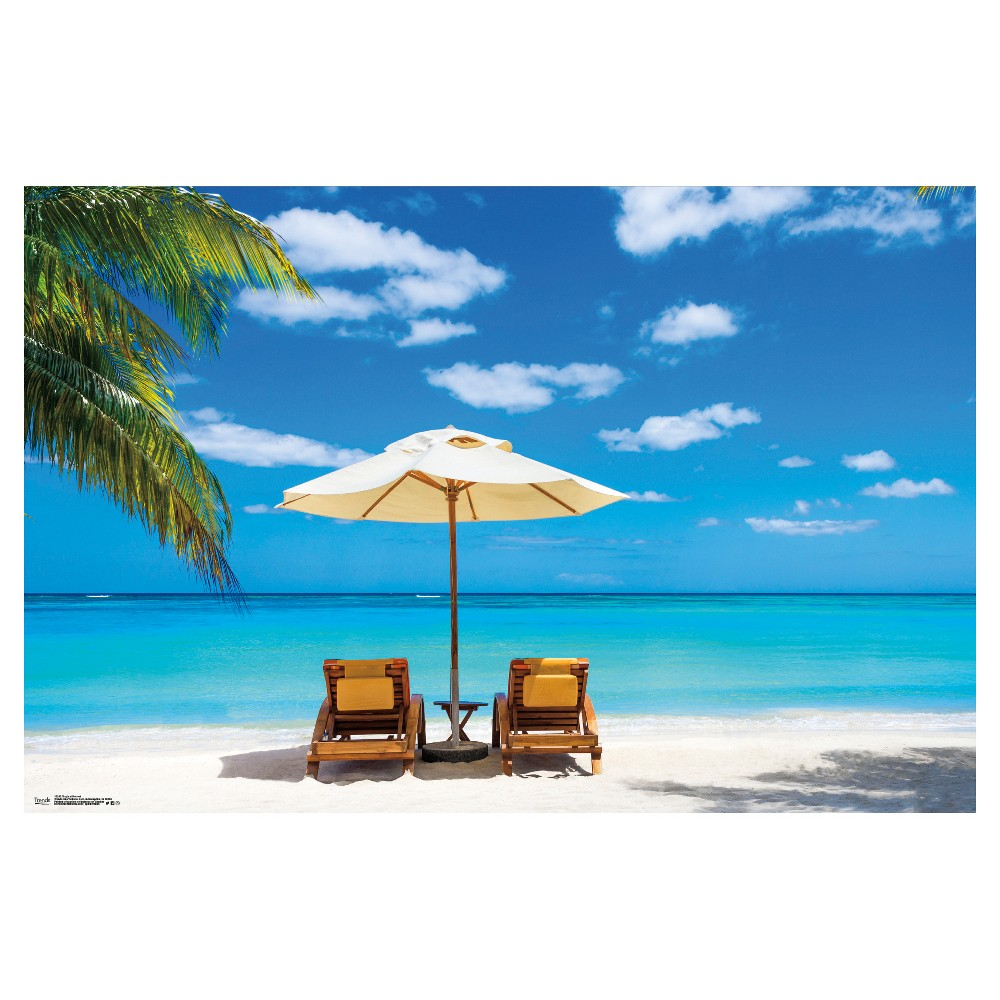 Tropical Retreat Poster 34x22 - Trends International, Multi-Colored