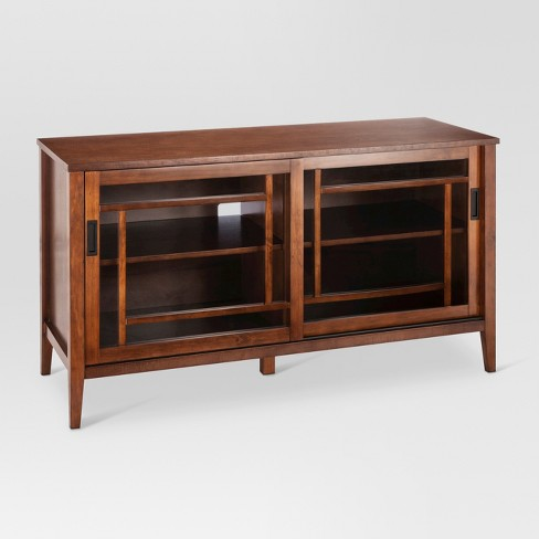 48 Luther Tv Stand Brown Threshold Target