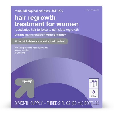 Hair Regrowth Treatment for Women - 2 fl oz each - up & up™