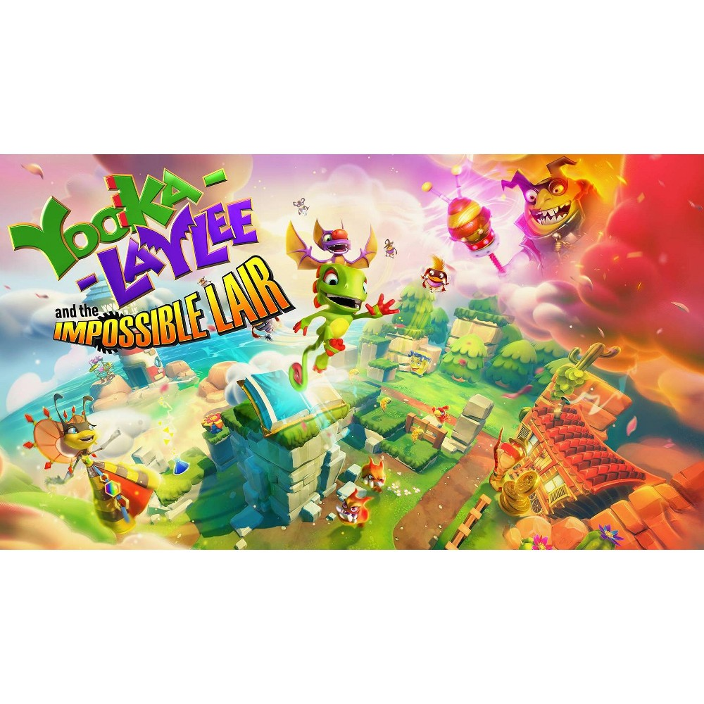 Yooka-Laylee and the Impossible Lair - Nintendo Switch (Digital) was $29.99 now $14.99 (50.0% off)