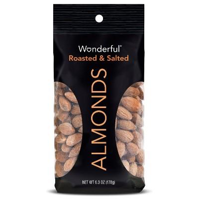 Nuts & Seeds: Wonderful Almonds Roasted & Salted