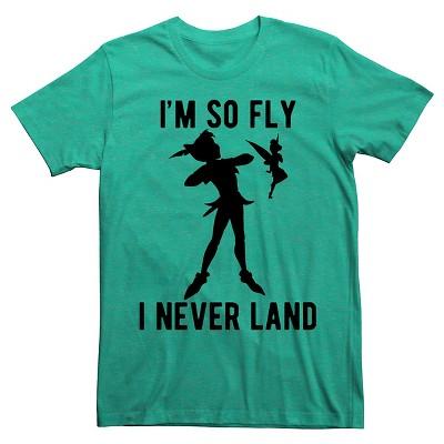 40867930c Men's Peter Pan® I'm So Fly I Never Land T-Shirt : Target