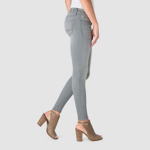 923b5596a0df7 DENIZEN From Levi's Women's Low Rise Jeggings - (Juniors') Gray 3 : Target