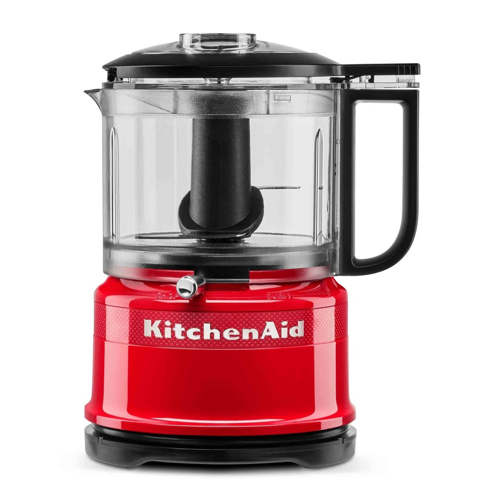Image of KitchenAid 100 Year Limited Edition Queen of Hearts 3.5 Cup Food Chopper Passion Red - KFC3516QHSD