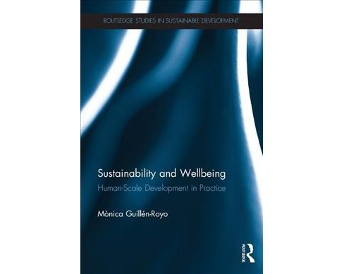 Sustainability and Wellbeing : Human-scale Development in Practice -  (Paperback) - image 1 of 1
