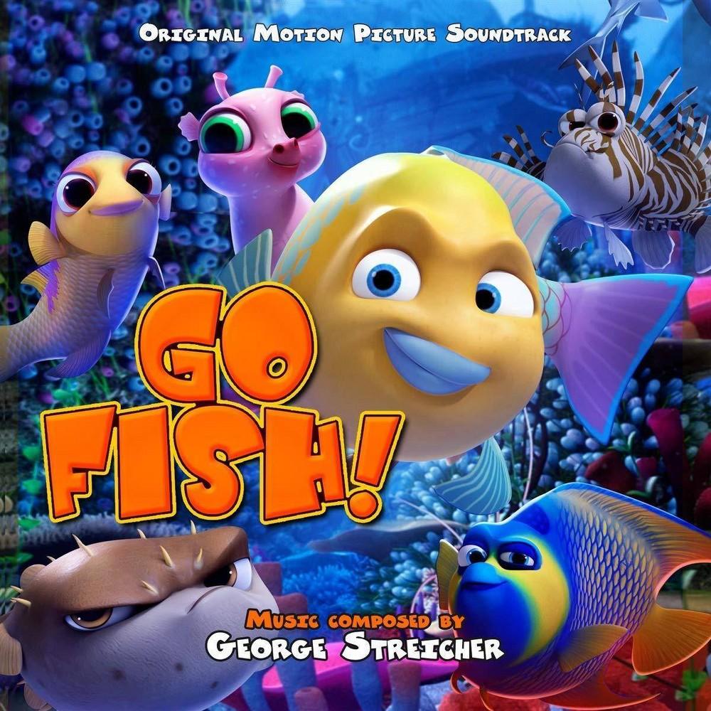 George Streicher Go Fish Osc Cd