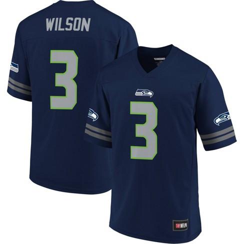 NFL Seattle Seahawks Russell Wilson Men's Short Sleeve Jersey - S