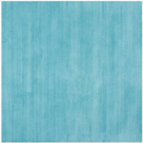 6 X6 Solid Tufted Square Area Rug