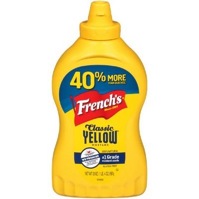 French's Yellow Mustard Classic - 20oz
