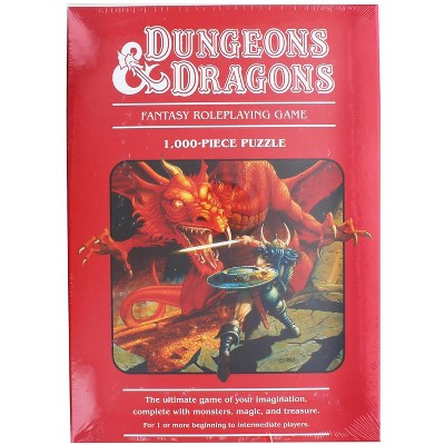 Mondo Dungeons & Dragons 1000 Piece Jigsaw Puzzle