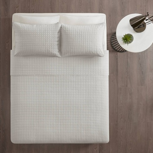 Trace 3pc Reversible Coverlet Set - image 1 of 4