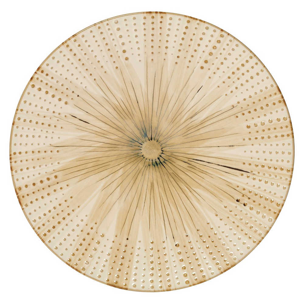 "Image of ""Pfaltzgraff Expressions Capri Dinner Plates Tan - 11""""x11"""" Set of 4, Beige Beige"""
