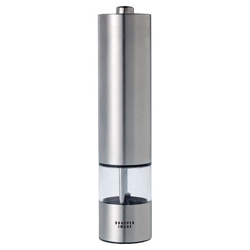 Battery Operated Stainless Steel Lighted Pepper Mill Target