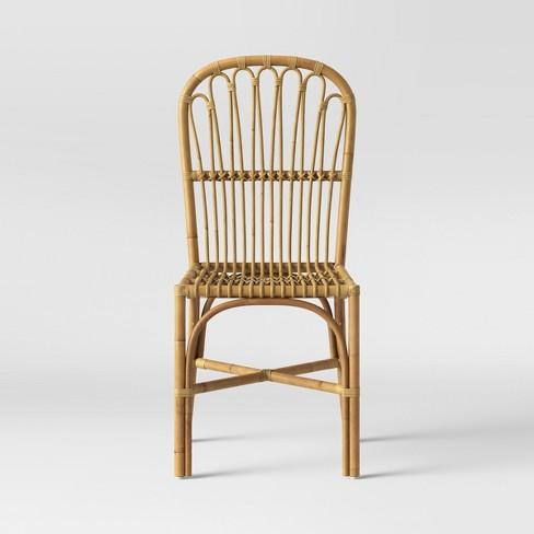 Cuprina Rattan Dining Chair Light Brown Opalhouse