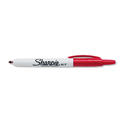 Sharpie Retractable Permanent Marker Fine Point Red 32702