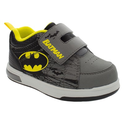 Toddler Boys' Batman Easy Closure Strap Sneakers - Black 1