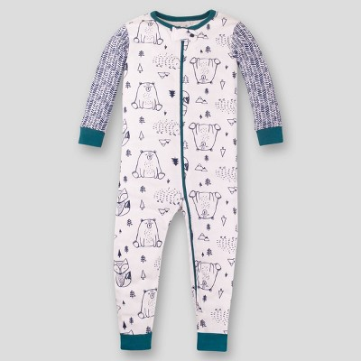 Lamaze Baby Organic Cotton Woodland Footless Stretchy Pajama Romper
