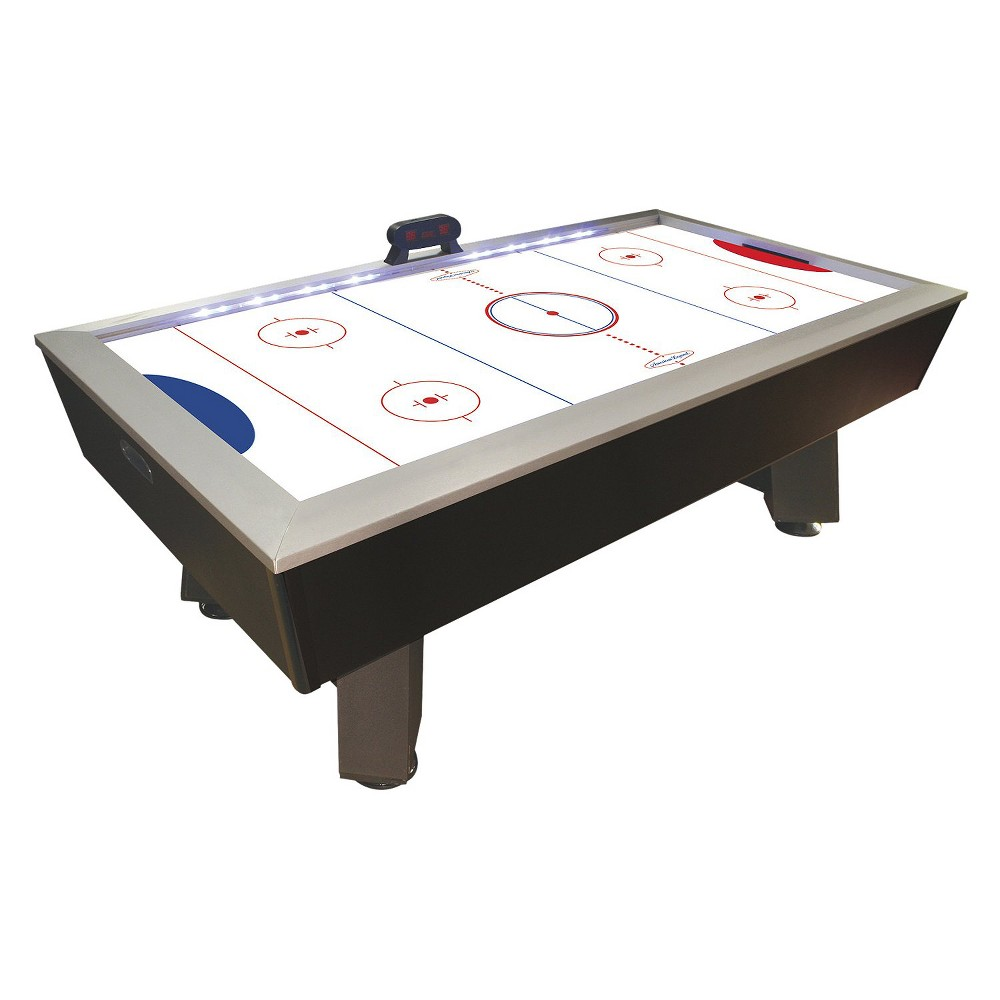 American Legend Phazer 7.5' Hockey Table, Black & Silver
