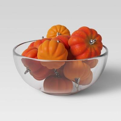 12pc Harvest Pumpkin Vase Filler Orange - Threshold™