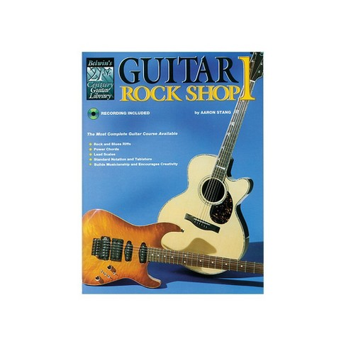 Alfred 21st Century Guitar Rock Shop Volume 1 Book/CD - image 1 of 1