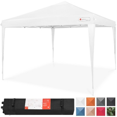 Best Choice Products 10x10ft Outdoor Portable Adjustable Instant Pop Up Gazebo Canopy Tent w/ Carrying Bag