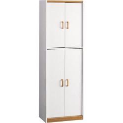 "72"" Daywood Kitchen Pantry Cabinet White - Room & Joy"