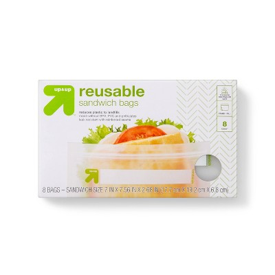Reusable Bag - Sandwich - 8pk - up & up™