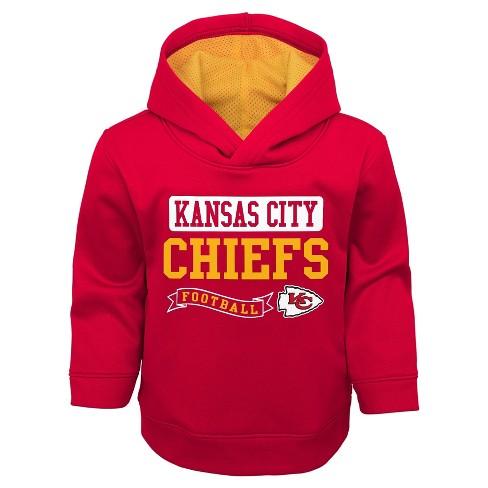 e8013f036 Kansas City Chiefs Toddler Boys  Mesh Lined Hood...   Target