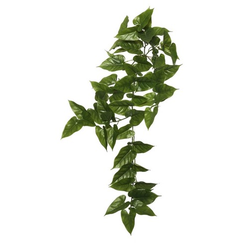 "Artificial Anthura Hng  Bush (36"") Green - Vickerman - image 1 of 1"