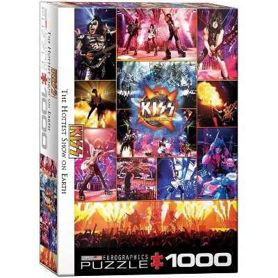 Eurographics Inc. KISS The Hottest Show on Earth 1000 Piece Jigsaw Puzzle