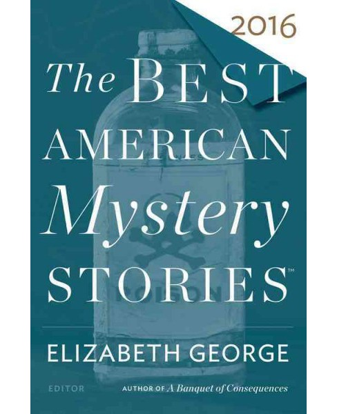Best American Mystery Stories 2016 (Paperback) - image 1 of 1