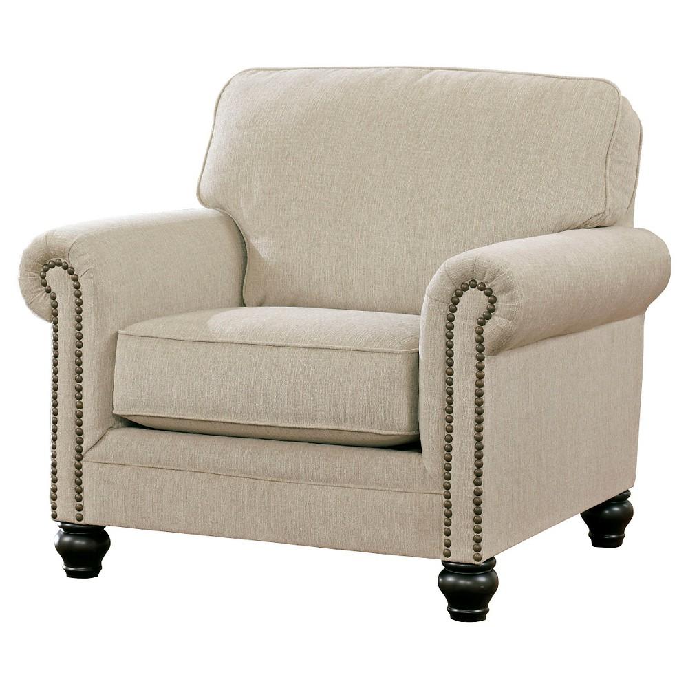Milari Chair Linen - Signature Design by Ashley, Ivory