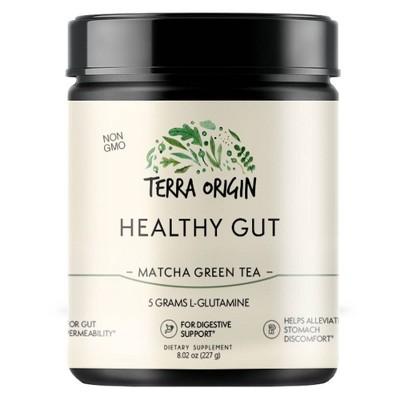 Terra Origin Healthy Gut - Matcha Green Tea - 8.02oz