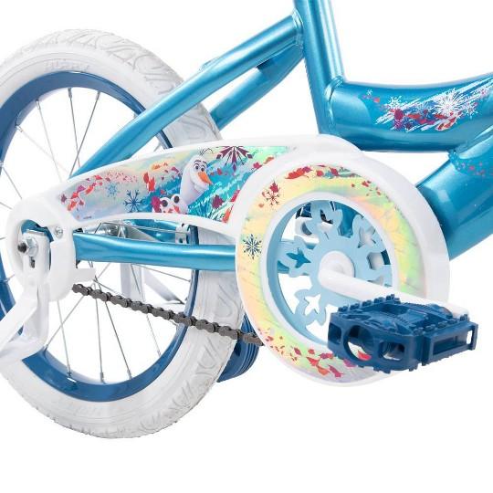 """Huffy Disney Frozen 2 16"""" Bike - Blue, Girl's image number null"""