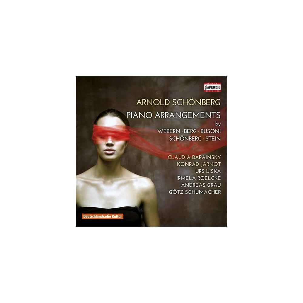 Various - Schoenberg:Piano Arrangements (CD)