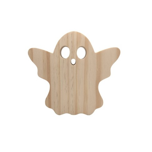 Wooden Ghost Craft Activity - Hand Made Modern® - image 1 of 2