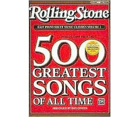 Rolling Stone Easy Piano Sheet Music Cla ( Rolling Stone, Easy Piano Sheet Music Classics) (Paperback) - image 1 of 1