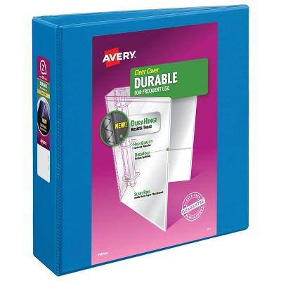 "Avery 2"" Slant Rings 500 Sheet Capacity Durable View Binder - Blue"