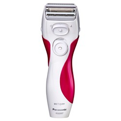 Panasonic Close Curves 3-Blade Wet & Dry Women's Rechargeable Electric Shaver - ES2207P